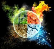 Identité et 4 éléments: l'air et le feu